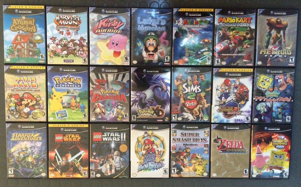 My Gamecube Game Collection As Of 4 18 15 Here Are All O