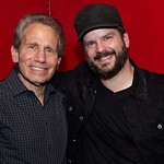 Mon, 23/05/2016 - 12:48pm - WFUV DJ Dennis Elsas with Chris Vos of The Record Company. 5/2016. Photo by Gus Philippas