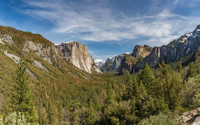 Iconic View of Yosemite