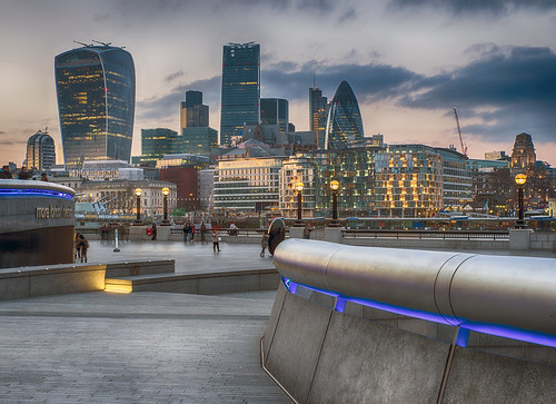 20150322 City of London from City Hall | by chrism_scotland (Chris Mitchell Photography)