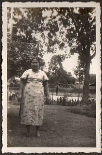 Sofie Chaulan in the Dutch East Indies in the thirties