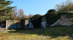 Ile de Ré, Le Bois plage, vestiges seconde guerre mondiale