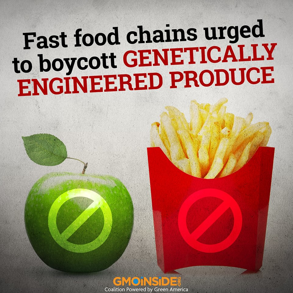 Fast Food Chains - just say NO ! to GMOs | thehill com/regul… | Flickr