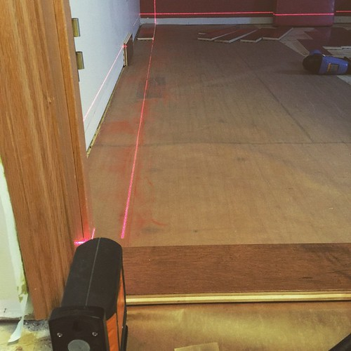 lasers for the #win. #chalklines are...