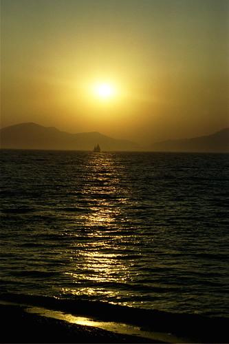 sunset sailboat greek sailing kos greece griechenland coucherdusoleil leverdusoleil