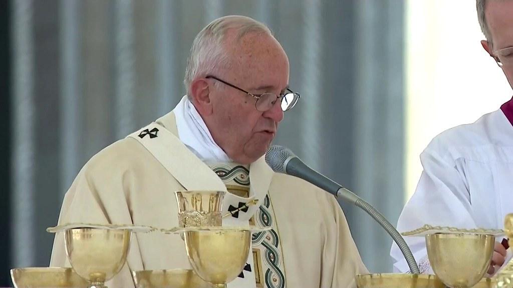 Papa Francesco Messa Canonizzazione Di Stanislao Di Gesu M Flickr