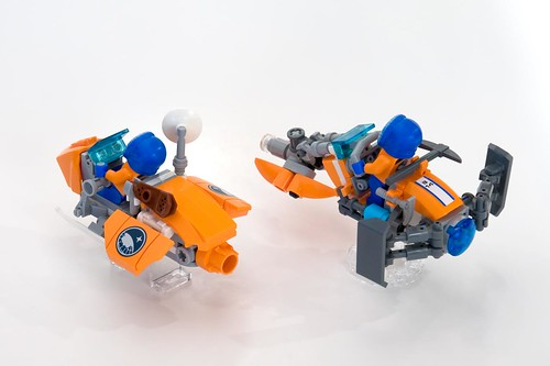 Snow-Fox & Caribou - Arctic Speederbikes | by ted @ndes