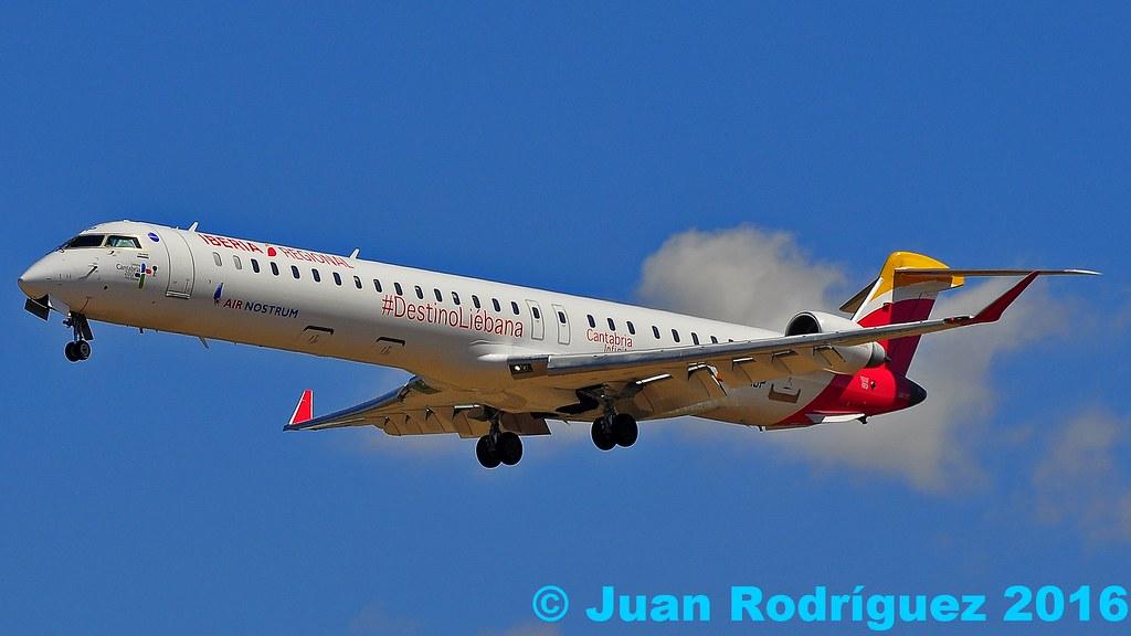 EC-MJP -Air Nostrum - Canadair CL-600-2E25 Regional Jet CRJ-1000