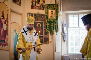 Литургия в Ильинском соборе 260