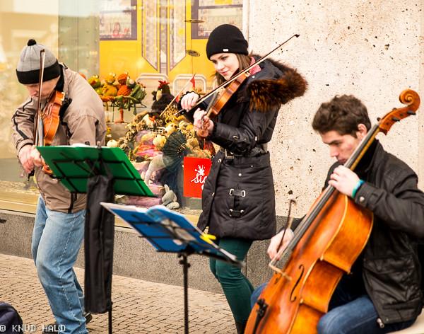 Musicians on Alexanderplatz