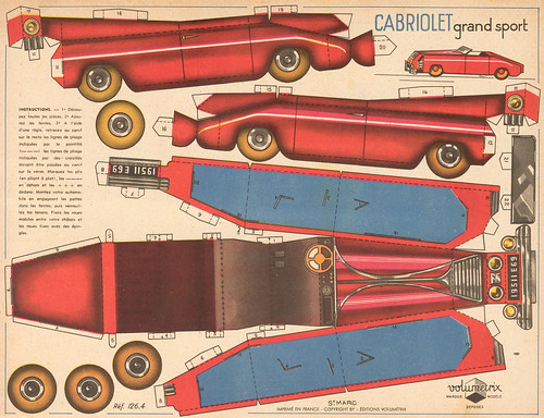cabriolet rouge | by pilllpat (agence eureka)