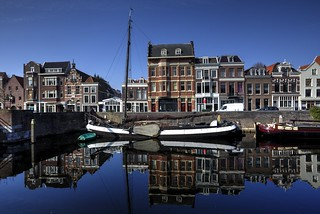 Historic Delfshaven - Reflection | by Rik Tiggelhoven Travel Photography