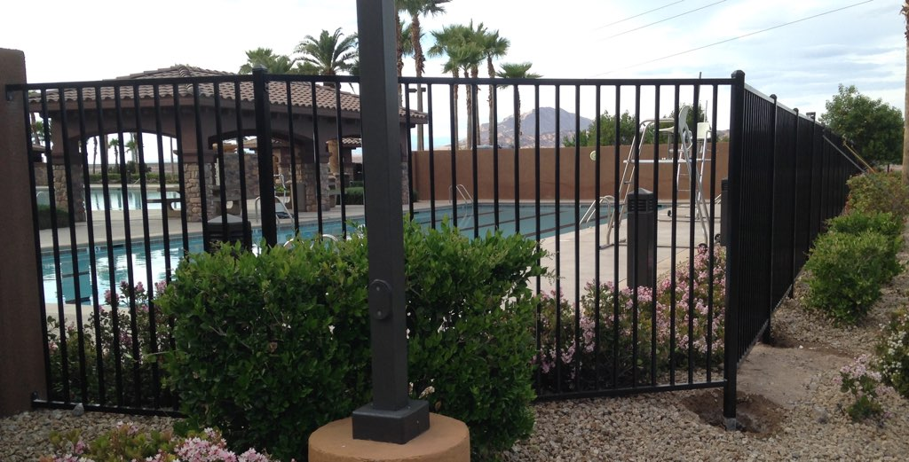 Pool Fence Ar Iron Works And Fencing