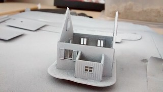 Z-scale house kit started | by lilspikey