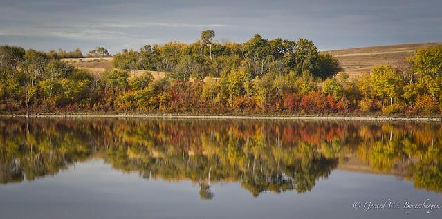 Prairie landscape - fall