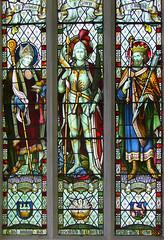 St Nicholas, St George, St Edmund