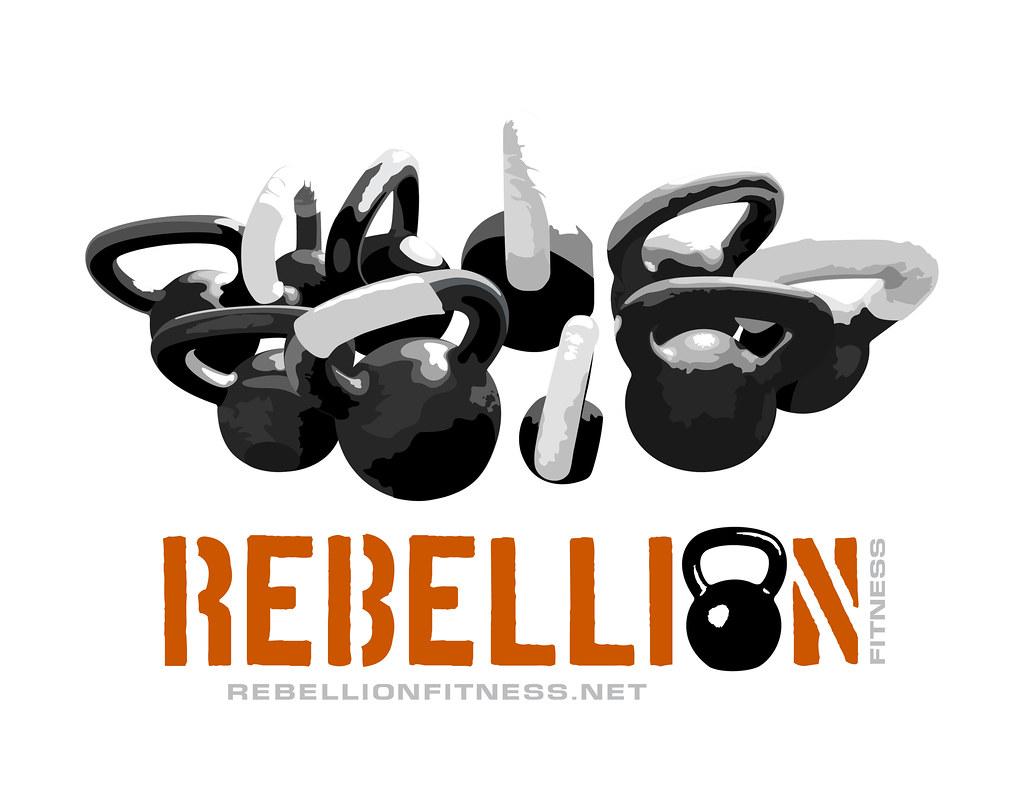 Rebellion Fitness Logo Design