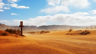 Speed Limit in the Desert - Monument Valley Road | by tempoworld.net