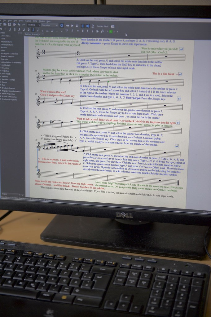 Getting Started Score | musescore org/en/node/50571#comment