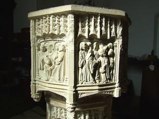 seven sacrament font: Ordination and Matrimony