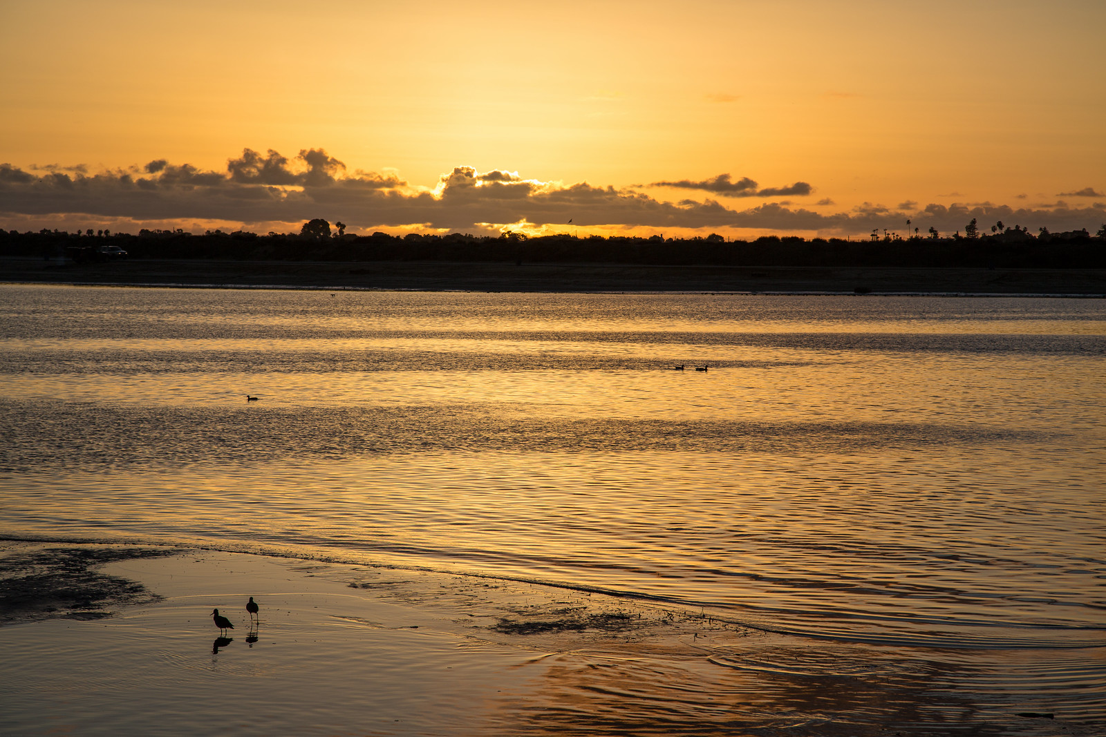 Mission Bay Park - Sunset on the Water - San Diego