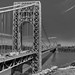 George Washington Bridge looking East by John Klos