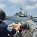 FCDR visits HMS Enterprise - EUNAVFOR MED
