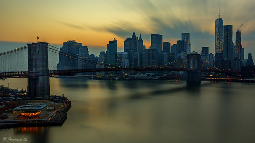 city longexposure nightphotography sunset urban usa skyline architecture skyscraper canon cityscape skylines brooklynbridge manhattanbridge brooklynbridgepark canonef24105mmf4lisusm