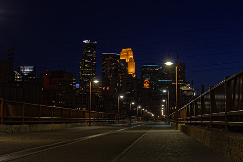 Views from the Stone Arch Bridge