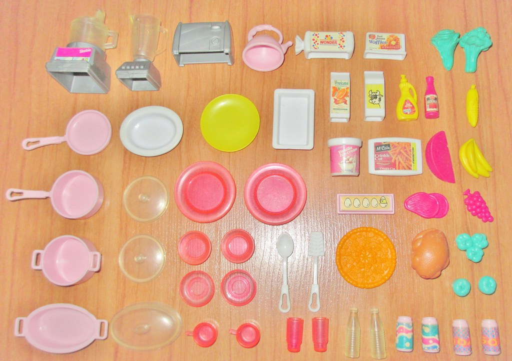1995 Barbie So Much To Do Kitchen Accessories Box Date 1 Flickr,Spa Website Inspiration