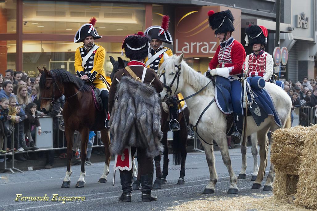 III Recreación de los Sitios de Zaragoza