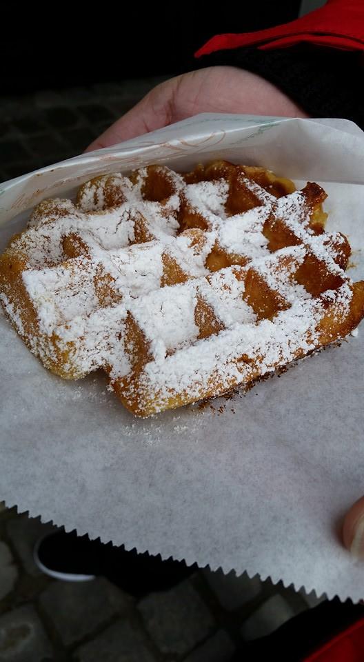 Belgium Waffle in Belgium!