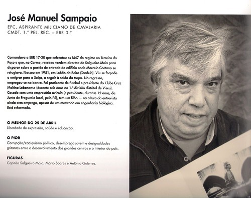 JOSÉ SAMPAIO - 25 DE ABRIL 1974 | by ALBERTINO SILVA