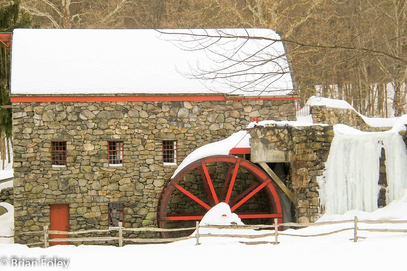 Grist Mill at the Wayside Inn