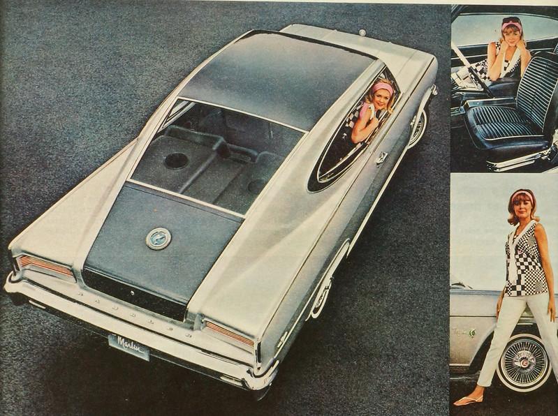 CM035 1965 Rambler Marlin Car Ad Framed DSC04428 crop