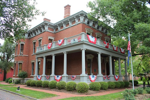 Benjamin Harrison Home   This house in Indianapolis was ...  Benjamin Harrison House