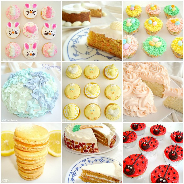Easter Cakes & Cupcakes Recipes
