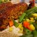 Lentil-Mushroom Meatloaf with Ketchup Glaze