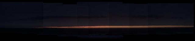 Sunset at Ocean Beach.  March 16, 2015
