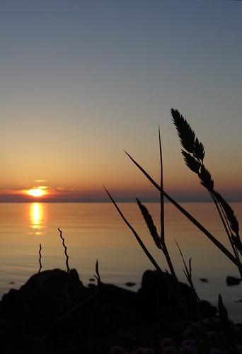 sunset machrihanish kintyre
