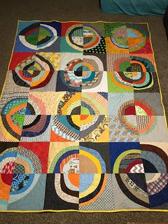 Wonky Circles Quilt