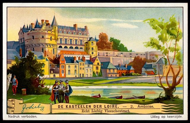 Liebig Tradecard S1272 - Château d'Amboise