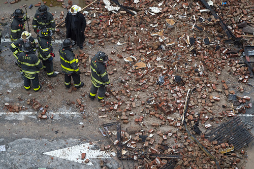 Thursday, March 26 East Village Explosion at Second Ave, Manhattan. | by Official New York City Fire Department (FDNY)