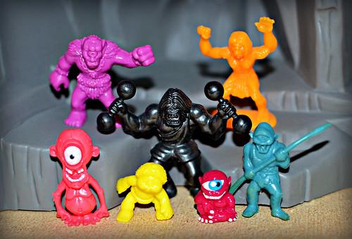 Cyclops mini figures