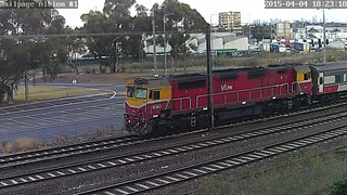 N463 leading a Vline service from Melbourne to Albury on the Standard Gauge | by kubcam1