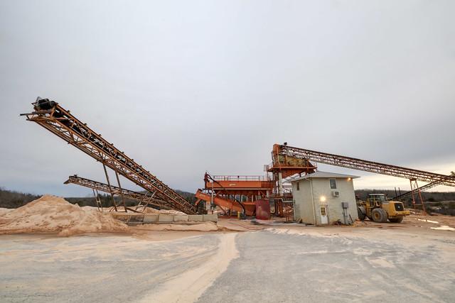 Conveyor belt, Sand Products LLC, Putnam County, Tennessee