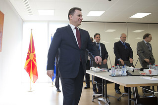 PM Nikola Gruevski visits NATO | by NATO