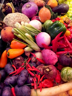 Vegetables and starchy foods the pillars of thinness