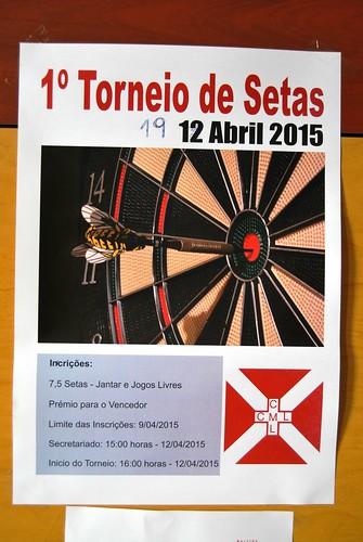 CARTAZ CCML-TORNEIO DE SETAS | by ALBERTINO SILVA