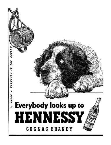 1956 Hennessy ad